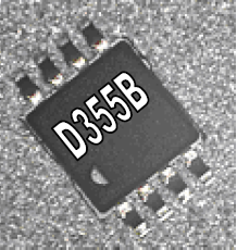 D355B Electroluminescent Lamp Driver IC